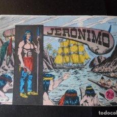 Tebeos: JERONIMO Nº 53 EDITORIAL GALAOR ORIGINAL . Lote 146561838