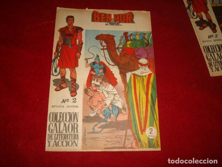 BEN HUR Nº 2 GALAOR 1965 (Tebeos y Comics - Galaor)