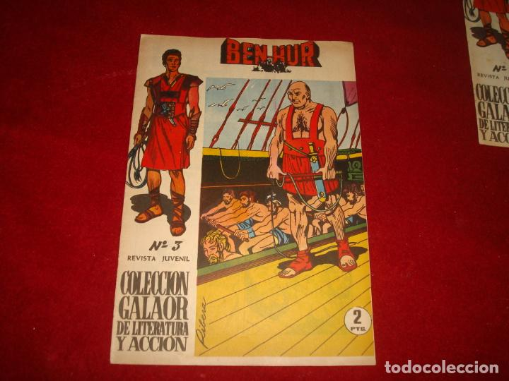 BEN HUR Nº 3 GALAOR 1965 (Tebeos y Comics - Galaor)