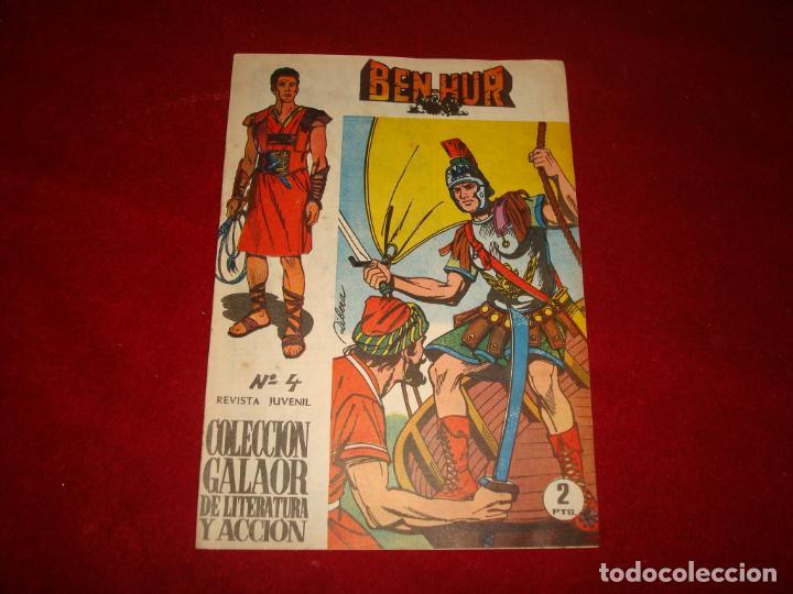 BEN HUR Nº 4 GALAOR 1965 (Tebeos y Comics - Galaor)