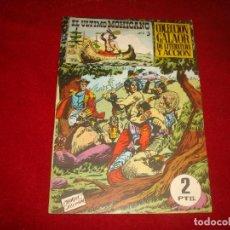 Tebeos: EL ULTIMO MOHICANO Nº 3 GALAOR 1965 BUEN ESTADO. Lote 147535518