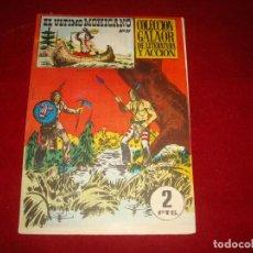 Tebeos: EL ULTIMO MOHICANO Nº 10 GALAOR 1965 GRAPA EN EL LATERAL BUEN ESTADO. Lote 147535838