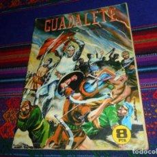 Tebeos: BATALLAS DECISIVAS Nº 11 GUADALETE. GALAOR 1964. 8 PTS. RARO.. Lote 148786482