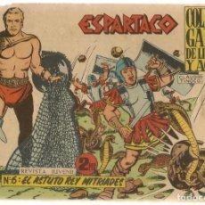 Livros de Banda Desenhada: ESPARTACO. Nº 6. EL ASTUTO REY MITRIADES. COLECCIÓN GALAOR. ¡¡ORIGINAL!!. (Z/C7) . Lote 155842574