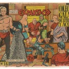 Tebeos: ESPARTACO. Nº 16. COLECCIÓN GALAOR. ¡¡ORIGINAL!!. (Z/C7) . Lote 155842934