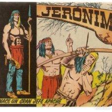 Tebeos: JERÓNIMO. Nº 1, NACE UN GRAN JEFE. EDICIONES GALAOR¡¡ORIGINAL!!(Z/C7). Lote 155858442
