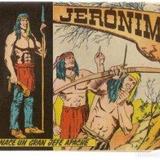 Tebeos: JERÓNIMO. Nº 1. NACE UN GRAN JEFE. EDICIONES GALAOR. ¡¡ORIGINAL!!. (Z/C7). Lote 155858610