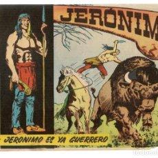 Tebeos: JERÓNIMO. Nº 2. JERÓNIMO ES YA GUERRERO. EDICIONES GALAOR. ¡¡ORIGINAL!!. (Z/C7). Lote 155858766