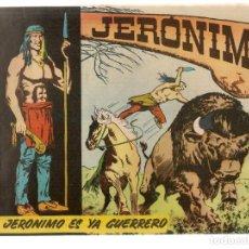 Tebeos: JERÓNIMO. Nº 2. JERÓNIMO ES YA GUERRERO. EDICIONES GALAOR. ¡¡ORIGINAL!!. (Z/C7). Lote 155858906
