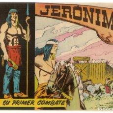 Tebeos: JERÓNIMO. Nº 3. SU PRIMER COMBATE. EDICIONES GALAOR. ¡¡ORIGINAL!!. (Z/C7). Lote 155861014