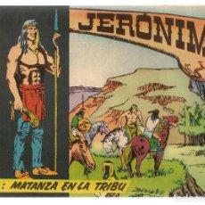 Tebeos: JERÓNIMO. Nº 4. MATANZA EN LA TRIBU. EDICIONES GALAOR. ¡¡ORIGINAL!!. (Z/C7). Lote 155861106