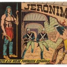 Tebeos: JERÓNIMO. Nº 5. ASALTO A LA VIEJA FORTALEZA. EDICIONES GALAOR. ¡¡ORIGINAL!!. (Z/C7). Lote 155861254