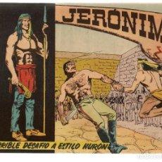 Tebeos: JERÓNIMO. Nº 6. TERRIBLE DESAFIO. EDICIONES GALAOR. ¡¡ORIGINAL!!. (Z/C7). Lote 155861398