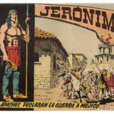 Tebeos: JERÓNIMO. Nº 7. LOS APACHES DECLARAN LA GUERRA. EDICIONES GALAOR. ¡¡ORIGINAL!!. (Z/C7). Lote 155861562