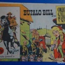 Tebeos: COMIC DE BUFFALO BILL AÑO 1965 Nº 14 EDICIONES DE GALAOR LOTE 7. Lote 158141674