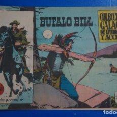 Tebeos: COMIC DE BUFFALO BILL AÑO 1965 Nº ? EDICIONES DE GALAOR LOTE 7. Lote 158141774