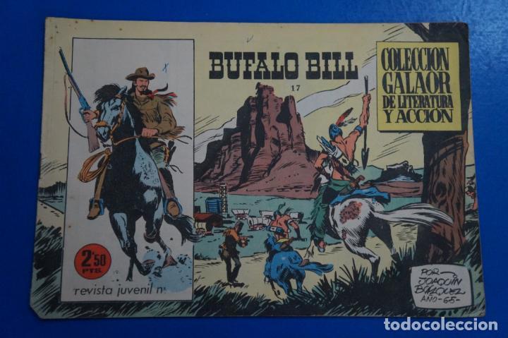 COMIC DE BUFFALO BILL AÑO 1965 Nº 17 EDICIONES DE GALAOR LOTE 7 (Tebeos y Comics - Galaor)