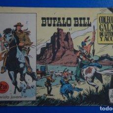 Tebeos: COMIC DE BUFFALO BILL AÑO 1965 Nº 17 EDICIONES DE GALAOR LOTE 7. Lote 158141962