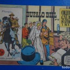 Tebeos: COMIC DE BUFFALO BILL AÑO 1965 Nº 15 EDICIONES DE GALAOR LOTE 7. Lote 158142414