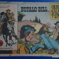 Tebeos: COMIC DE BUFFALO BILL AÑO 1965 Nº 11 EDICIONES DE GALAOR LOTE 7. Lote 158142774
