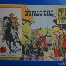Tebeos: COMIC DE BUFFALO BILL AÑO 1965 Nº 14 EDICIONES DE GALAOR LOTE 7. Lote 158142942