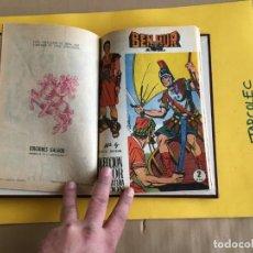 Tebeos: BEN-HUR. 1 TOMO CON 10 Nº. AÑO 1965. EDITORIAL GALAOR. Lote 158218314