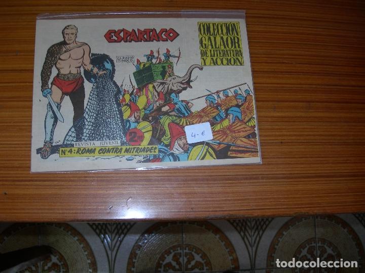 ESPARTACO Nº 4 EDITA GALAOR (Tebeos y Comics - Galaor)
