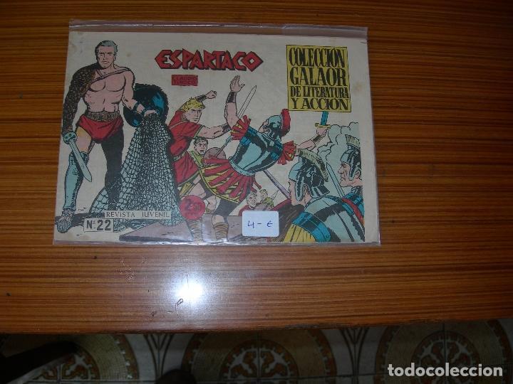 ESPARTACO Nº 22 EDITA GALAOR (Tebeos y Comics - Galaor)