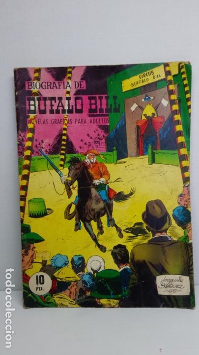 BIOGRAFÍA DE BUFALO BILL-JOAQUÍN BLÁZQUEZ. EDICIONES GALAOR-1968 (Tebeos y Comics - Galaor)