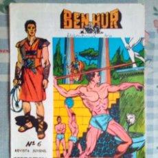 Livros de Banda Desenhada: BEN-HUR- Nº 6 - UNA ORIGINAL Y VIBRANTE ADAPTACIÓN- 1965- GRAN CARLOS PRUNÉS-BUENO-DIFÍCIL-1405. Lote 169026660