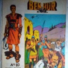 Tebeos: BEN-HUR- Nº 10 - ÚTIMO NÚMERO-ORIGINAL Y VIBRANTE ADAPTACIÓN-1966- FELIX MARTZ-BUENO-DIFÍCIL-1408. Lote 169031928