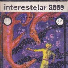 Giornalini: COMIC COLECCION INTERESTELAR 3000 Nº 5. Lote 172132893