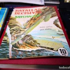 Giornalini: BATALLAS DECISIVAS, MIDWAY, GALAOR,. Lote 172570998