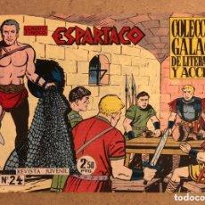Tebeos: ESPARTACO N° 24 (COLECCIÓN GALAOR 1964).. Lote 172581762