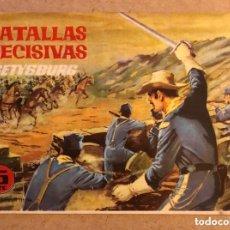 Tebeos: BATALLAS DECISIVAS N° 196 GETYSBURG (EDICIONES GALAOR). ORIGINAL. Lote 172584508