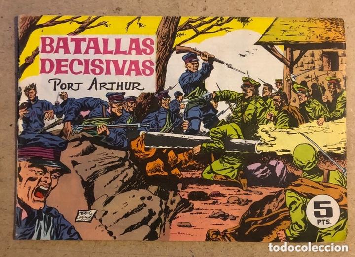 BATALLAS DECISIVAS PORT ARTHUR (EDICIONES GALAOR). ORIGINAL. (Tebeos y Comics - Galaor)