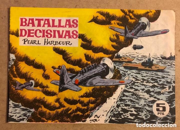 BATALLAS DECISIVAS PEARL HARBOUR (EDICIONES GALAOR). ORIGINAL. (Tebeos y Comics - Galaor)