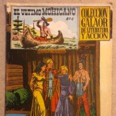 Giornalini: EL ÚLTIMO MOHICANO N° 6 (EDICIONES GALAOR 1965).. Lote 172586723