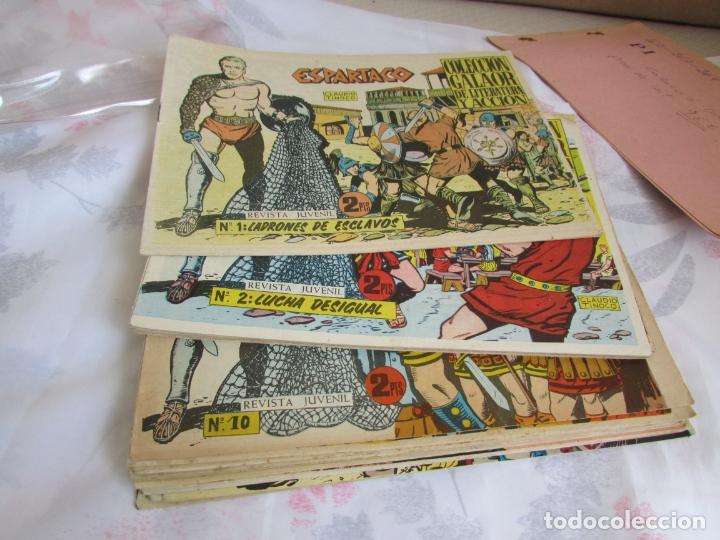 Tebeos: ESPARTACO coleccion completa original - Foto 2 - 172890537