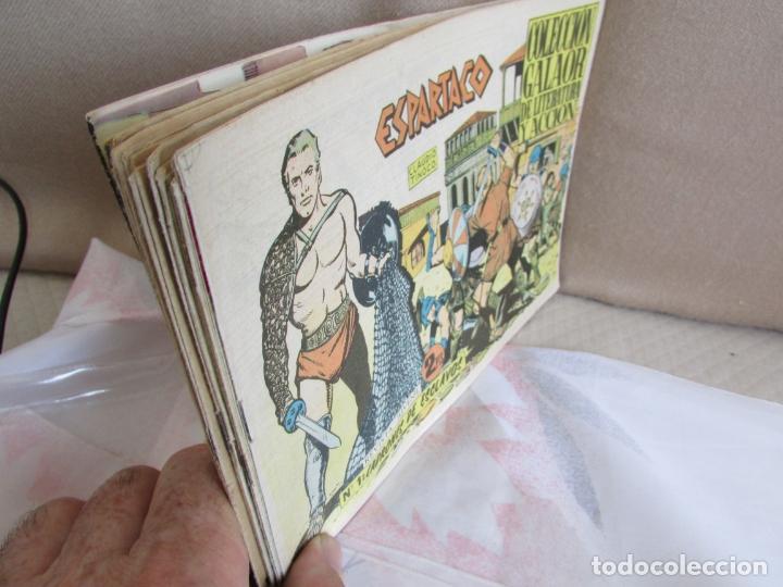 ESPARTACO COLECCION COMPLETA ORIGINAL (Tebeos y Comics - Galaor)