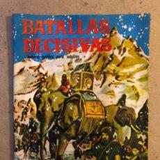 Livros de Banda Desenhada: BATALLAS DECISIVAS N° 11 CANNAS. EDICIONES GALAOR.. Lote 172917948