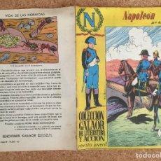 Tebeos: NAPOLEON Nº 4 - COLECCION GALAOR DE LITERATURA Y ACCION - ORIGINAL - GCH. Lote 173629587