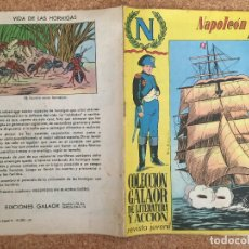 Tebeos: NAPOLEON Nº 3 - COLECCION GALAOR DE LITERATURA Y ACCION - ORIGINAL - GCH. Lote 173629654