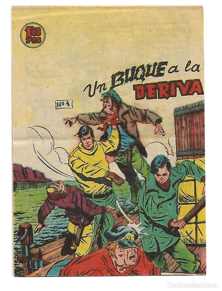EL PEQUEÑO GRUMETE NUM 4 - ORIGINAL (Tebeos y Comics - Galaor)