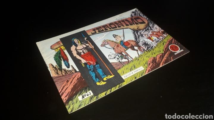 TEBEO JERÓNIMO Nº 63, ED. GALAOR. BARCELONA. ORIGINAL AÑOS 60. SIN USO! (Tebeos y Comics - Galaor)