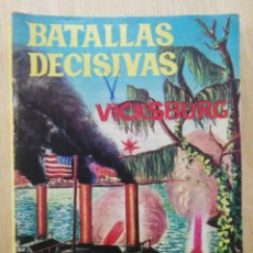 Livros de Banda Desenhada: BATALLAS DECISIVAS - VICKSBURG - ED. GALAOR. Lote 177637089