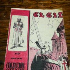 Tebeos: EL CID- COLECCIÓN GALAOR DE LITERATURA Y ACCIÓN, N°4. ED. GALAOR, 1966.. Lote 180167276