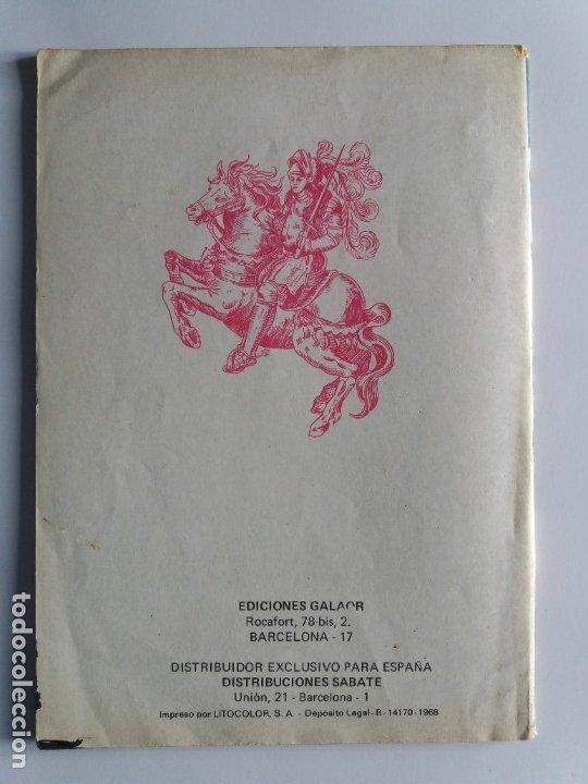 Tebeos: COSMOS 101. EDICIONES GALAOR. 1968. - Foto 2 - 182286591