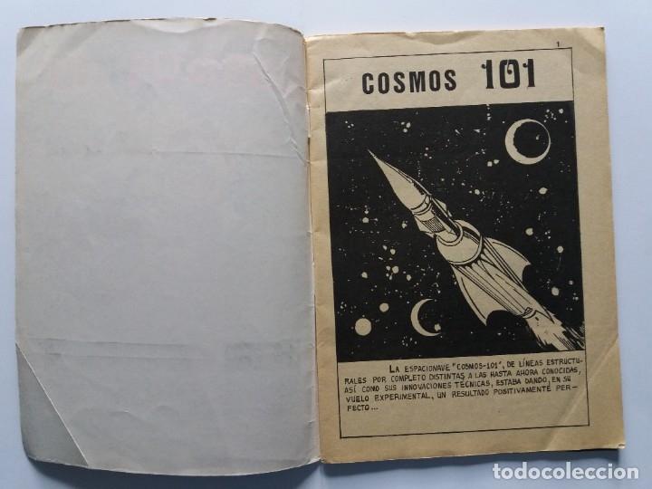 Tebeos: COSMOS 101. EDICIONES GALAOR. 1968. - Foto 3 - 182286591