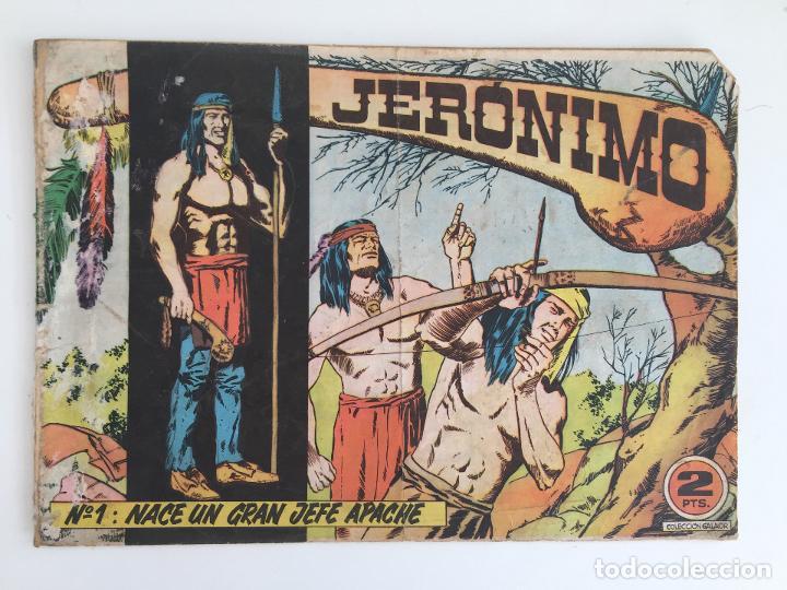 JERONIMO - NUMERO 1 - GALAOR, ORIGINAL - GCH (Tebeos y Comics - Galaor)
